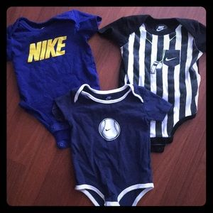 Bundle of Nike onesies